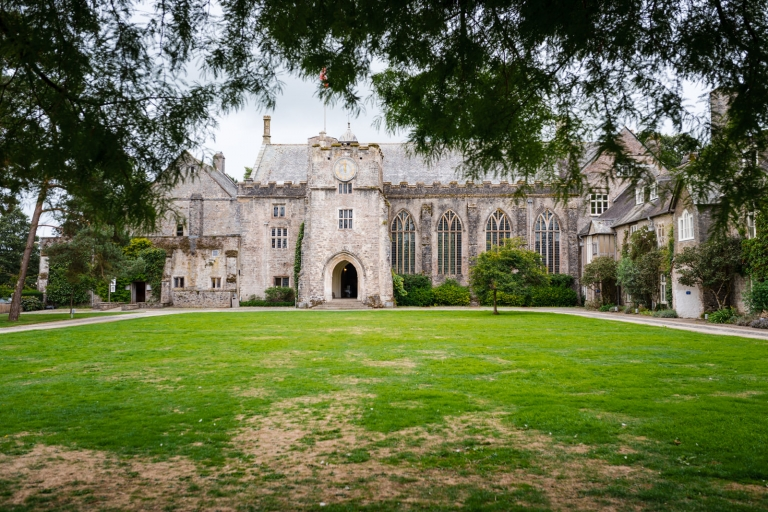 Dartington Hall image by Devon wedding photographer Michael Riley.
