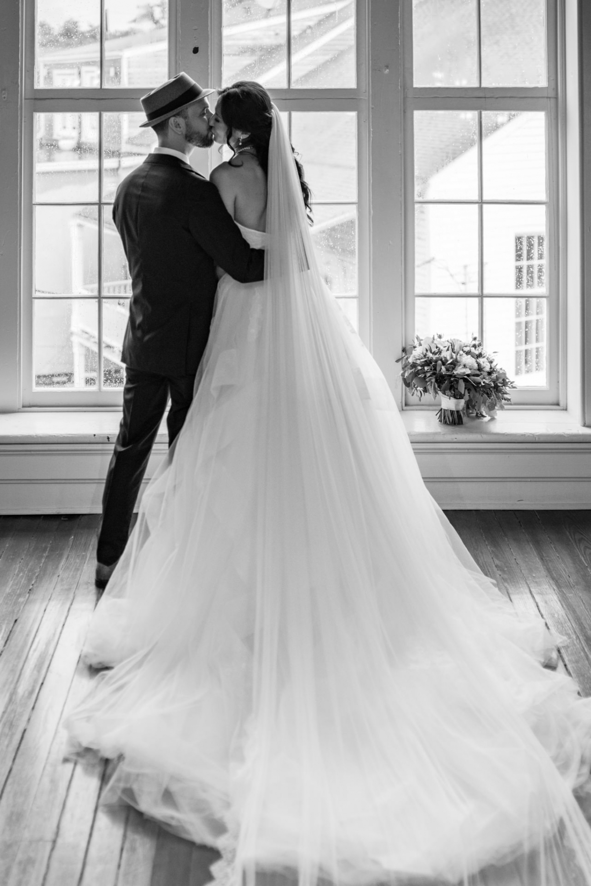 the wedding couple by wedding photographer Mike Riley