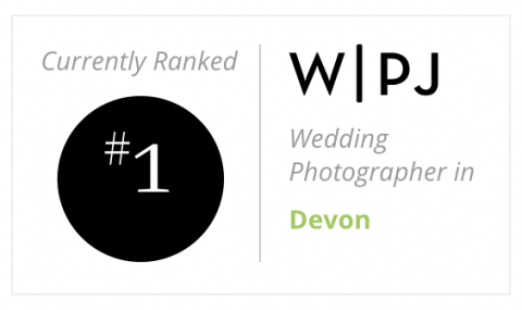 No 1 wedding photographer in Devon