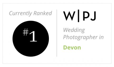 No 1 wedding photographer in Devon